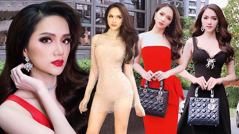 Những bộ cánh ấn tượng giúp Hương Giang Idol đăng quang Hoa hậu chuyển giới quốc tế