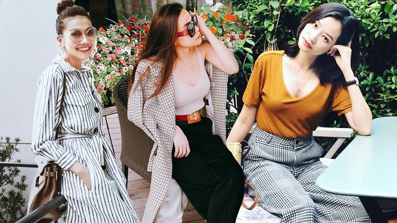 Thanh Hằng, Hồ Ngọc Hà và dàn sao Việt khoe street style chất lừ với họa tiết kẻ