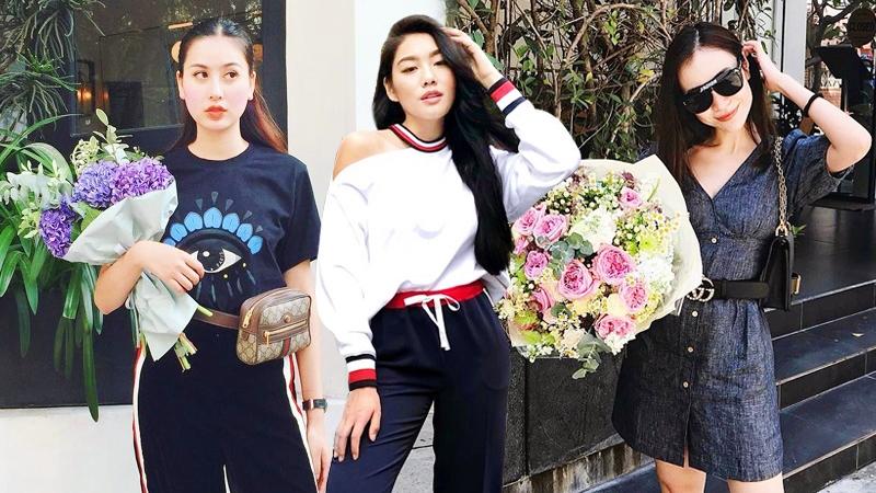 Ngất ngây với trang phục dạo phố giao mùa của fashionista Việt