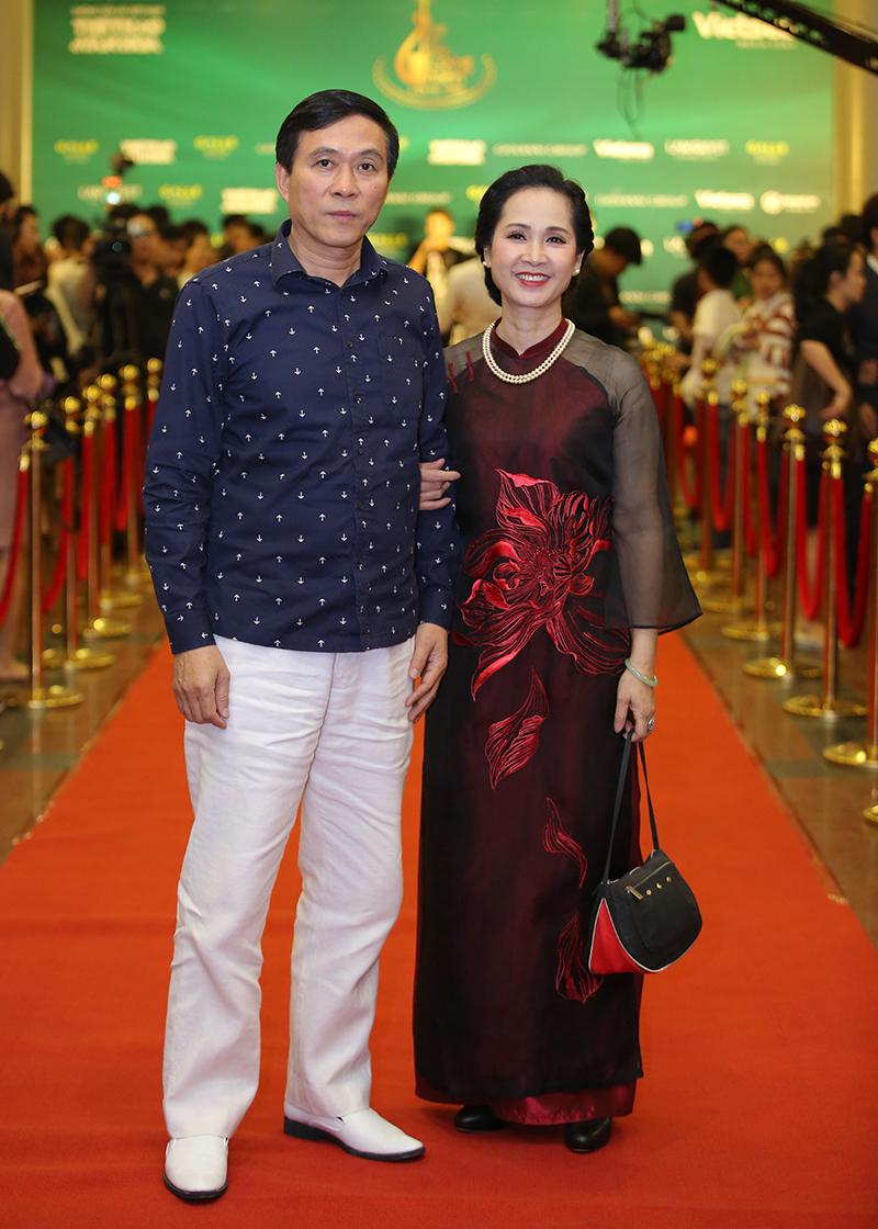 Vợ chồng nghệ sĩ Đỗ Kỷ - Lan Hương.