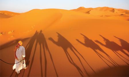 Có một Sahara không giống như chảo lửa