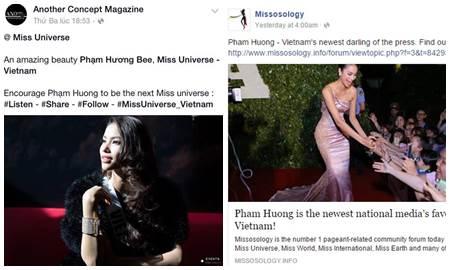 Phạm Hương và những lần được truyền thông quốc tế hết lời khen ngợi