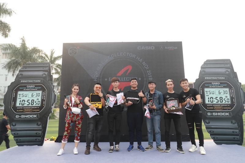 Những thành viên G-Collector với bộ sưu tập G-Shock đáng ngưỡng mộ.