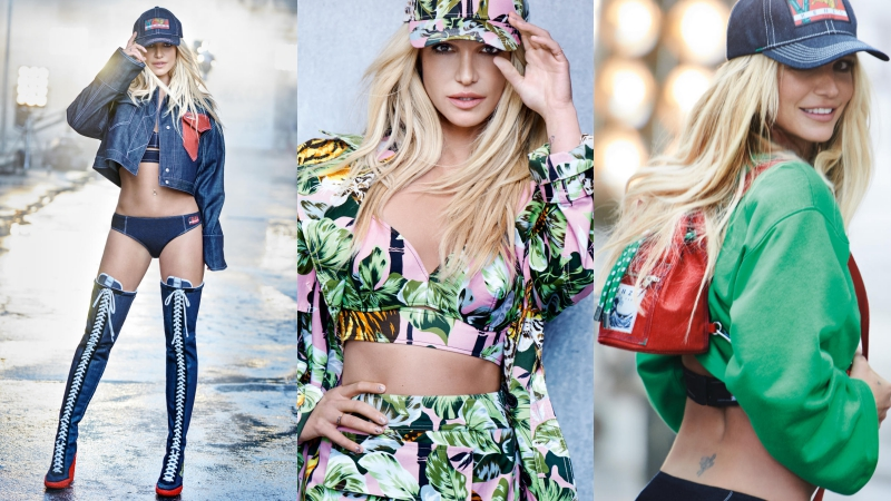 Britney Spears thần thái quyến rũ trong chiến dịch quảng cáo BST La Collection Memento No.2 của Kenzo