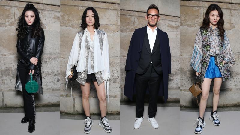 """Phạm Băng Băng, Hidetoshi Nakata,… cùng dàn sao châu Á """"đổ bộ"""" hàng ghế đầu tại show Louis Vuitton"""