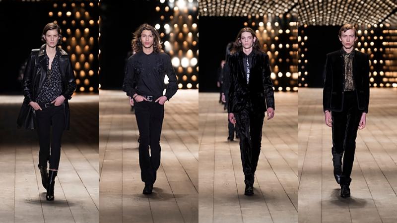 """Tiếp nối là những thiết kế dành cho nam giới với những thiết kế mang """"thần thái siêu sao""""."""