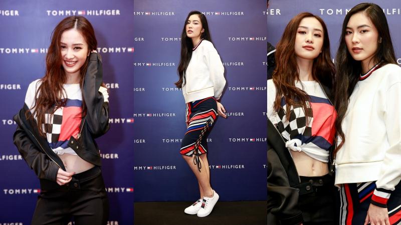 """Jun Vũ """"đọ dáng"""" với Helly Tống trong các thiết kế mới của thương hiệu Tommy Hilfiger"""