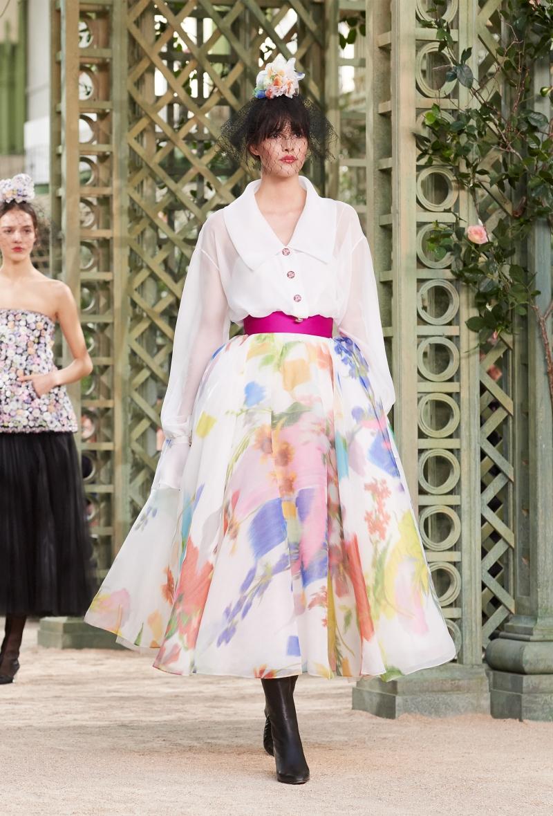 Các thiết kế trong BST Haute Couture Xuân Hè 2018 của Chanel