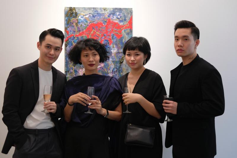 NTK Li Lam (thứ hai từ trái qua) cùng những vị khách mời tại sự kiện.