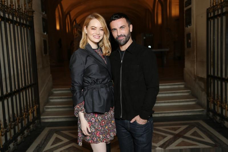 Emma Stone và NTK Nicolas Ghesquière