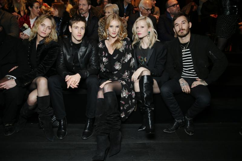 Chiêm ngưỡng phong cách siêu chất của dàn sao trên hàng ghế đầu show Saint Laurent Thu Đông 2018-2019