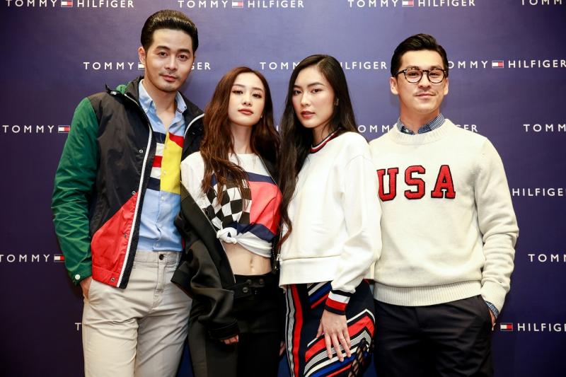 Những vị khách đặc biệt của sự kiện ra mắt BST Xuân Hè 2018 của Tommy Hilfiger tại Trung tâm Thương mại Vincom Centre Bà Triệu.