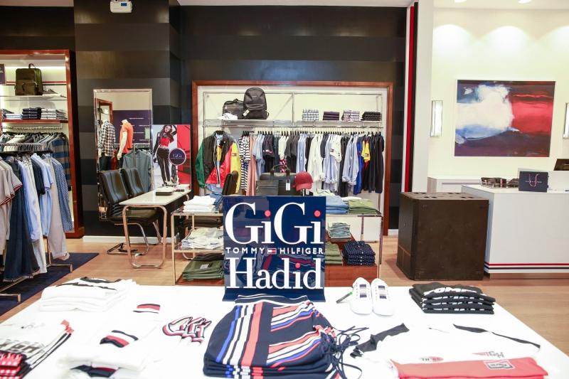 BST của Tommy Hilfiger hợp tác cùng chân dài đình đám Gigi Hadid cũng đã có mặt tại cửa hàng.