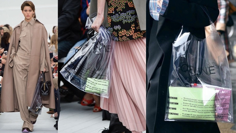 """Tín đồ thời trang """"phát cuồng"""" với chiếc túi nhựa 590 đôla của Celine"""