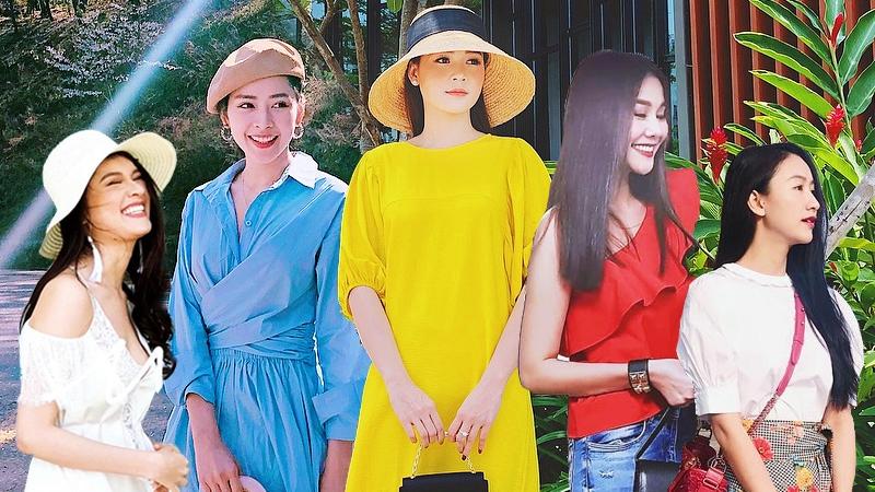 Thanh Hằng, Chi Pu và dàn sao Việt khoe street style ngọt ngào cùng váy áo rực rỡ