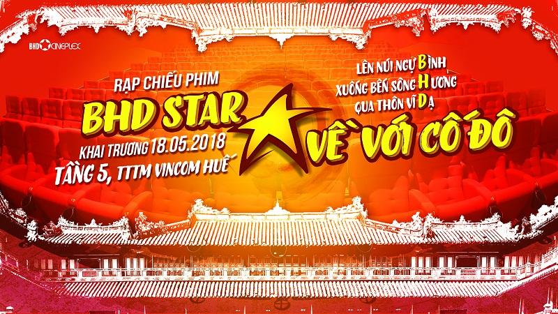 Chào đón cụm rạp BHD Star đầu tiên tại Cố Đô Huế