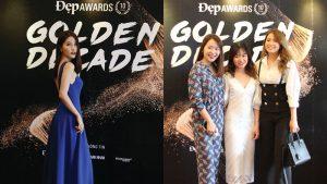 """Diễm My 9X xinh đẹp rực rỡ, Kaity Nguyễn tươi tắn rạng ngời """"đọ sắc"""" cùng dàn mỹ nhân Việt tại Gala 10 năm Đẹp Awards"""