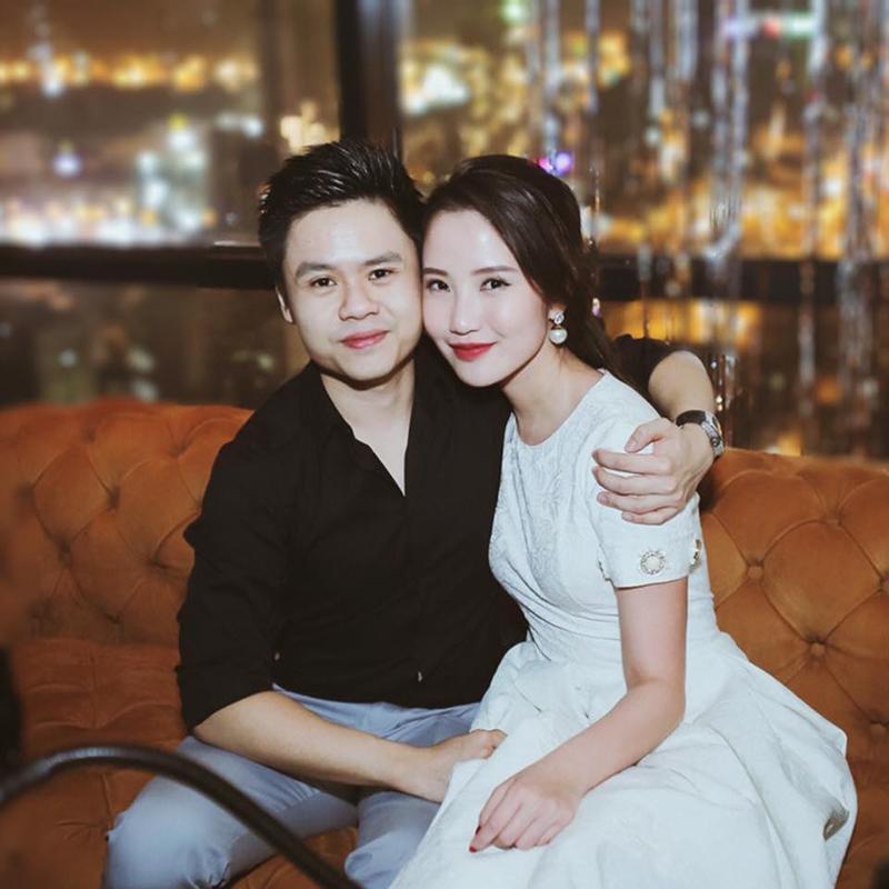 Phan Thành cập nhật ảnh đại diện chụp cùng Trương Minh Xuân Thảo vào ngày sinh nhật hot girl.