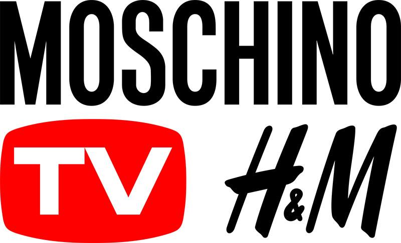 Logo chính thức của BST Moschino [tv] H&M