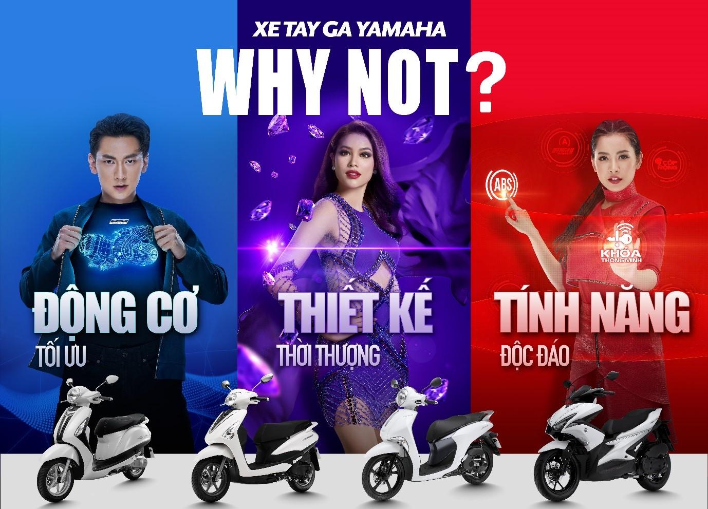 Xe tay ga Yamaha – Thiết kế không phải là tất cả
