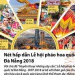 Nét hấp dẫn Lễ hội pháo hoa quốc tế Đà Nẵng 2018