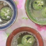 Biến tấu với bánh trôi trà xanh nhân vừng đen cho Tết Hàn thực