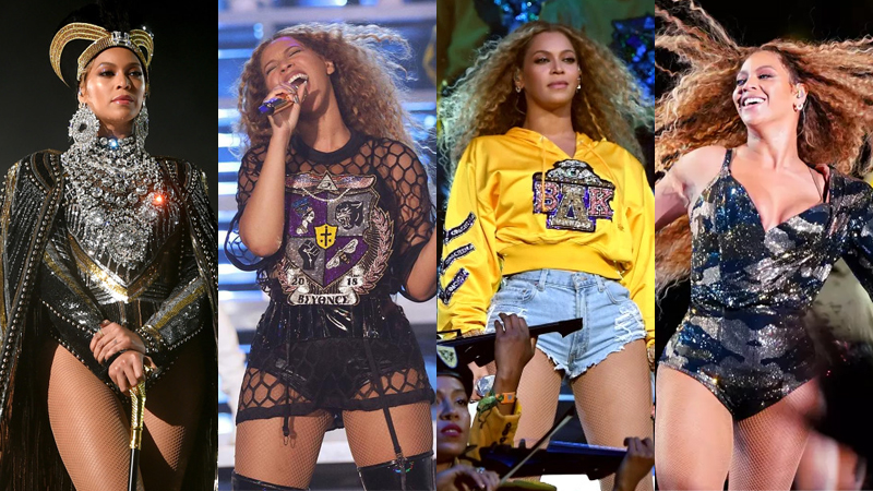 """""""Ong chúa"""" Beyoncé mê hoặc khán giả Coachella trong trang phục Balmain đẳng cấp"""