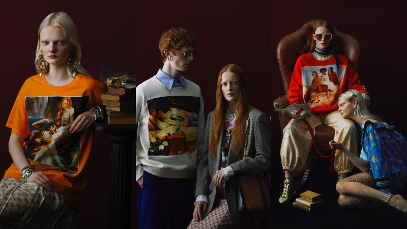 """Gucci """"xuất chiêu"""" với 300 thiết kế áo nỉ, áo thun phiên bản giới hạn"""