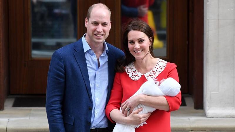 Những hình ảnh đầu tiên của hoàng tử nhí nước Anh được hé lộ