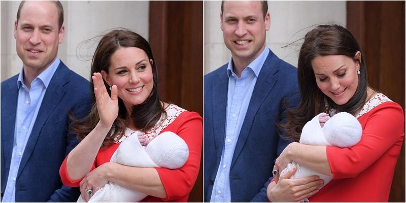 Dù Thái tử William và công nương Kate chỉ xuất hiện trong 1 khoảng thời gian ngắn nhưng người dân Anh đã rất thỏa mãn khi được tận mắt nhìn thấy vị Hoàng tử mới nhất của nước họ.