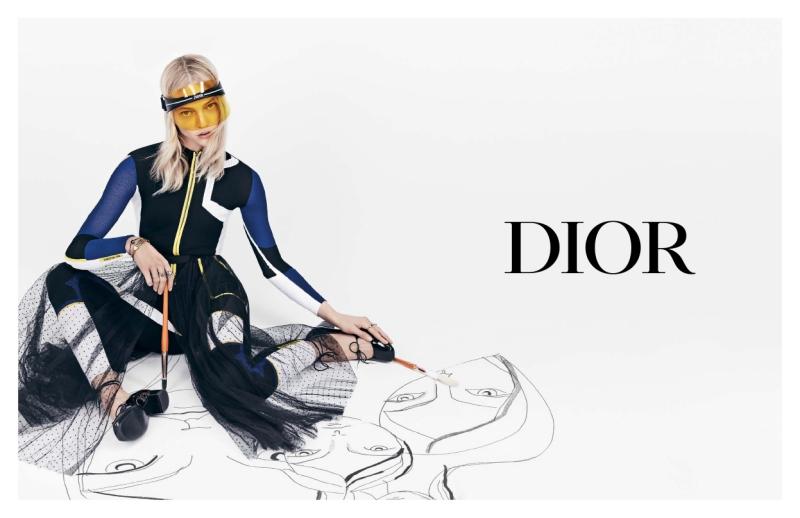 DiorClub1 cũng xuất hiện trong chiến dịch quảng cáo Xuân Hè 2018 của Dior.