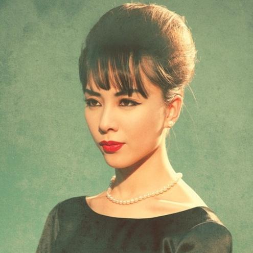 Dương Trương Thiên Lý đẹp xuất sắc trong tạo hình tứ đại mỹ nhân Sài Gòn xưa