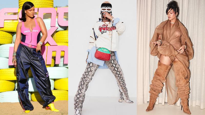 """Rihanna tiếp tục """"chặt đẹp"""" tại lễ hội Coachella với phong cách không-thể-đụng-hàng"""