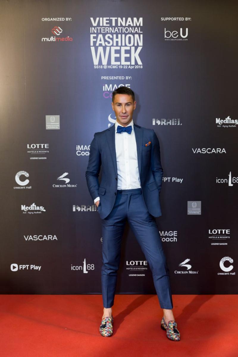 Cựu giám khảo chương trình Vietnam's Next Top Model – Adam Williams.