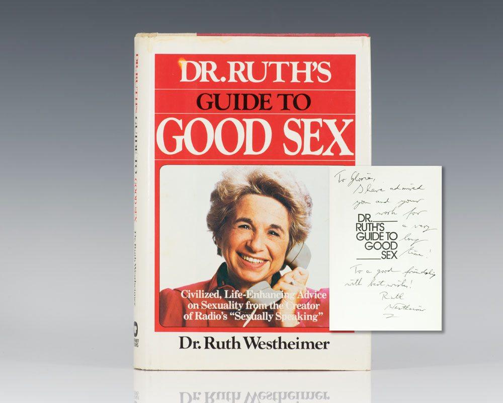 Một trong những tựa sách bán chạy nhất của bà Ruth Westheimer.