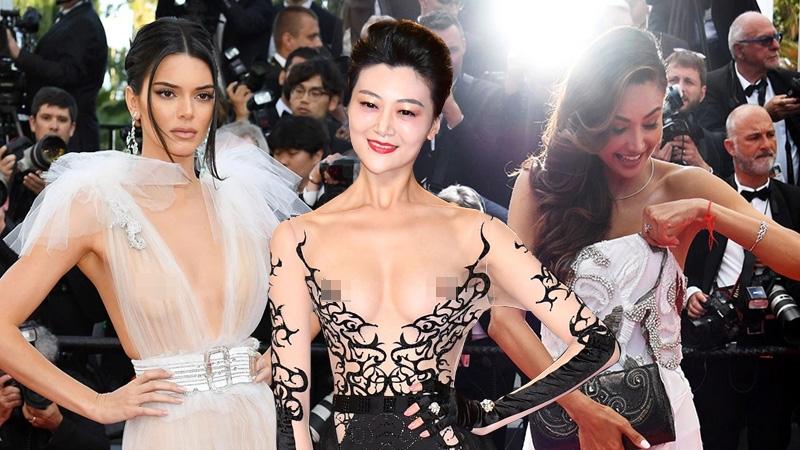 10 bộ đồ hở bạo và sự cố trang phục ồn ào trên thảm đỏ LHP Cannes 2018