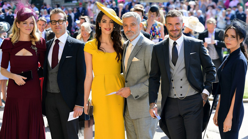 Victoria Beckham, Amal Clooney nổi bật giữa dàn khách mời trong đám cưới hoàng gia Anh