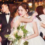 Chung Hân Đồng và chiếc váy cưới trong mơ sau 10 năm chờ đợi