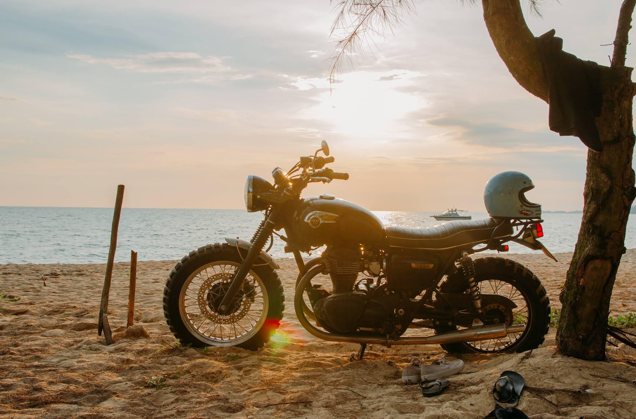 """Trần Hoàng Tuấn: """"'Style' hơn kể từ khi chơi motor classic"""""""