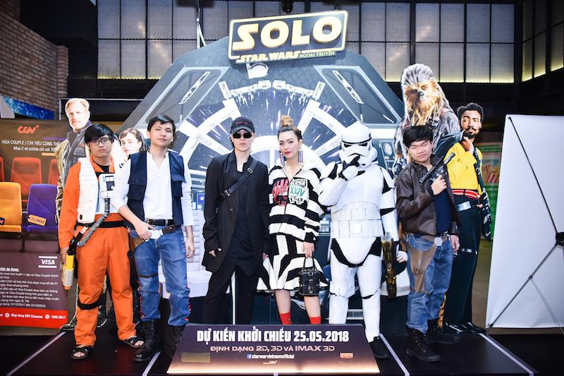 Dàn sao Việt dấn thân vào hành trình phiêu lưu kỳ thú tại buổi công chiếu phim Solo: A Star Wars Story
