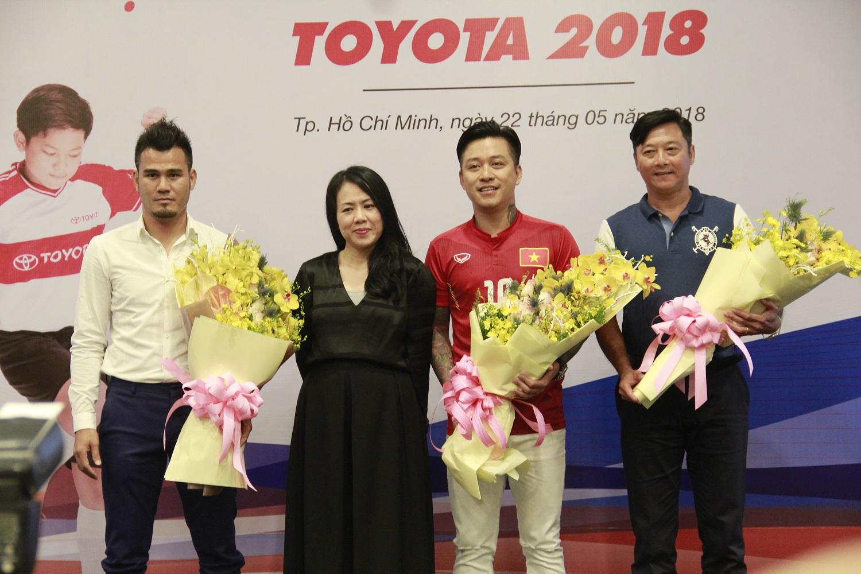Khởi động trại hè bóng đá thiếu niên Toyota 2018