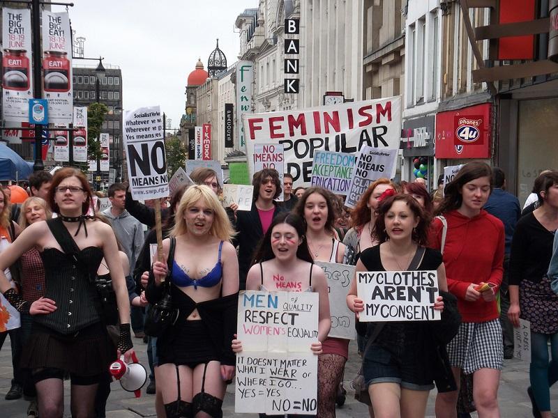 Slutwalk Newcastle, 04.06.11