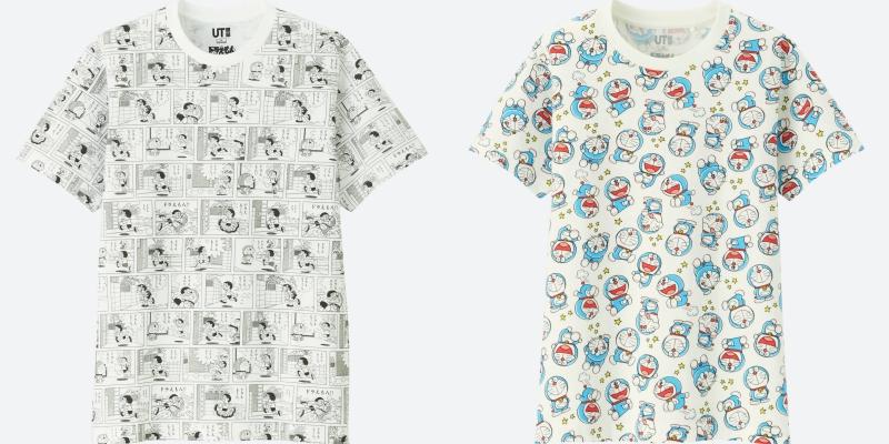 Những thiết kế áo thun in họa tiết Doraemon