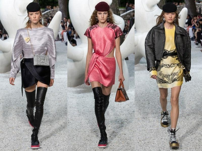 Dấu ấn Paris đậm chất Pháp luôn hiện hữu trong các thiết kế mà Giám đốc Nghệ thuật Nicolas Ghesquière thực hiện cho Louis Vuitton.