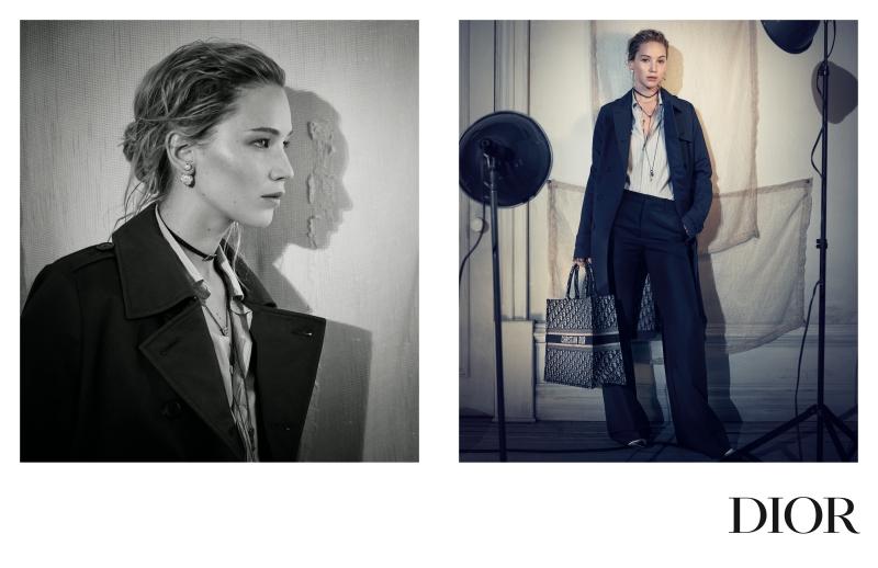 Jennifer Lawrence là gương mặt chính trong chiến dịch quảng cáo BST Chớm Thu 2018 của Dior.
