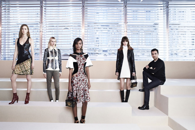 NTK Nicolas Ghesquière tiếp tục vai trò Giám đốc Nghệ thuật tại Louis Vuitton