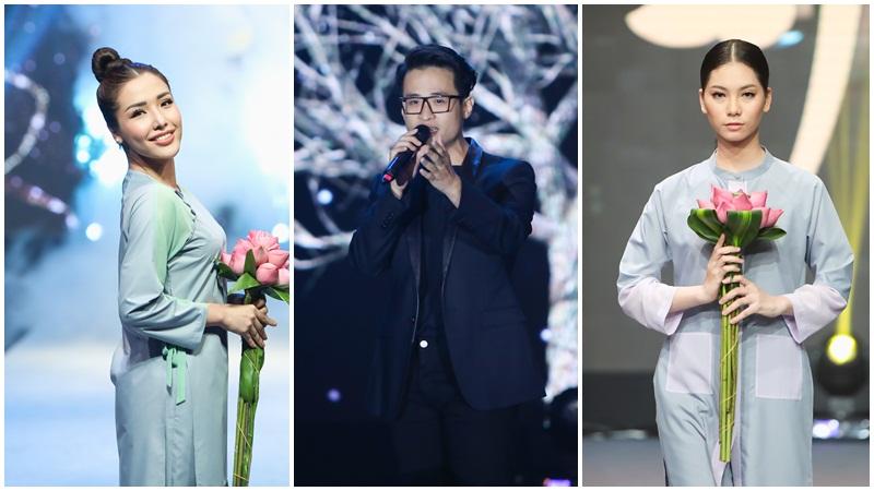 Hà Anh Tuấn hát nhạc Trịnh ở show diễn thời trang
