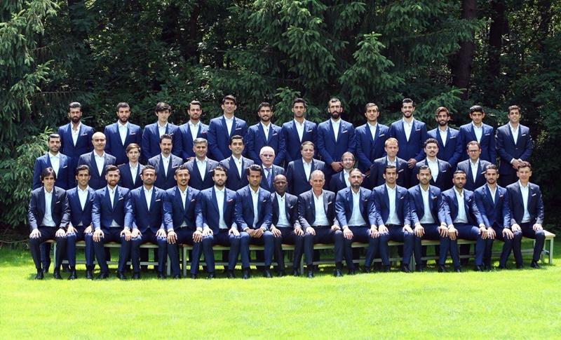 Đội hình dàn cầu thủ ấn tượng của Iran sẽ tranh đấu trong kỳ World Cup năm nay.