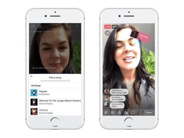 """""""Gã khổng lồ"""" Facebook cung cấp tính năng hát nhép trực tuyến"""