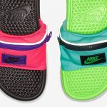 Item cực hot mùa hè dành cho các chàng: Dép đi biển kết hợp túi bao tử của Nike